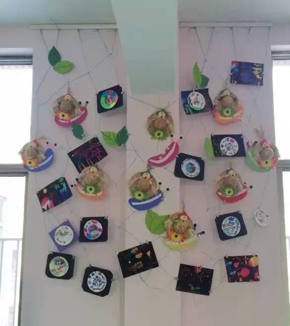 图片幼儿园特色墙面数字布置